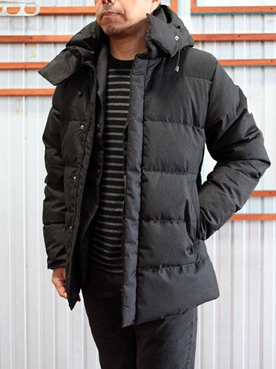 PYRENEX(ピレネックス)国内正規品 BERFORT JACKET ベルフォールジャケット Black