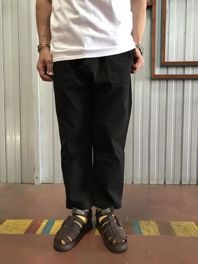 Gramicci GUP-010 LOOSE TAPERED PANTS ルーズテーパードパンツ Black